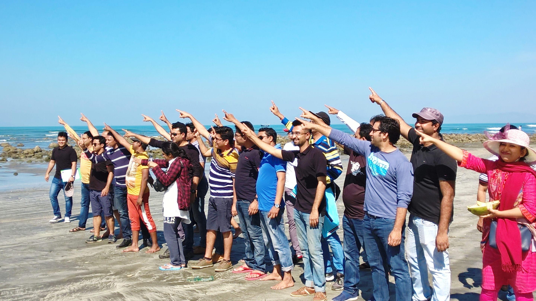 Team Building Training at Saint Martin, Cox's Bazar.