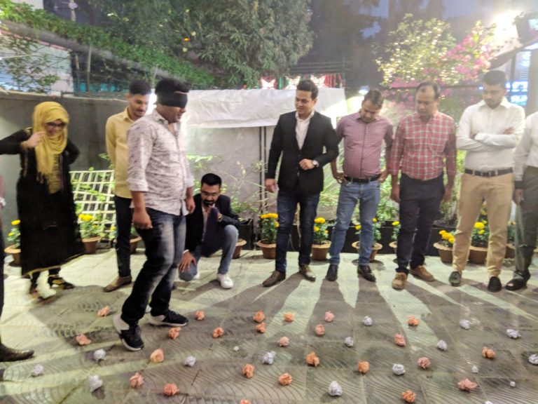 Team Building Activities of Groupe Casino, Bangladesh organized by ICDB