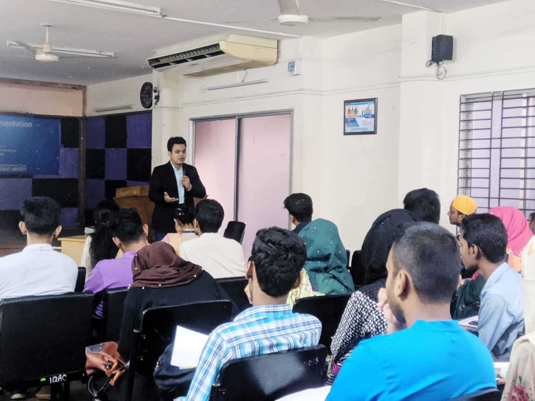 Workshop on Importance of Effective Communication and Presentation Skills at Southeast University