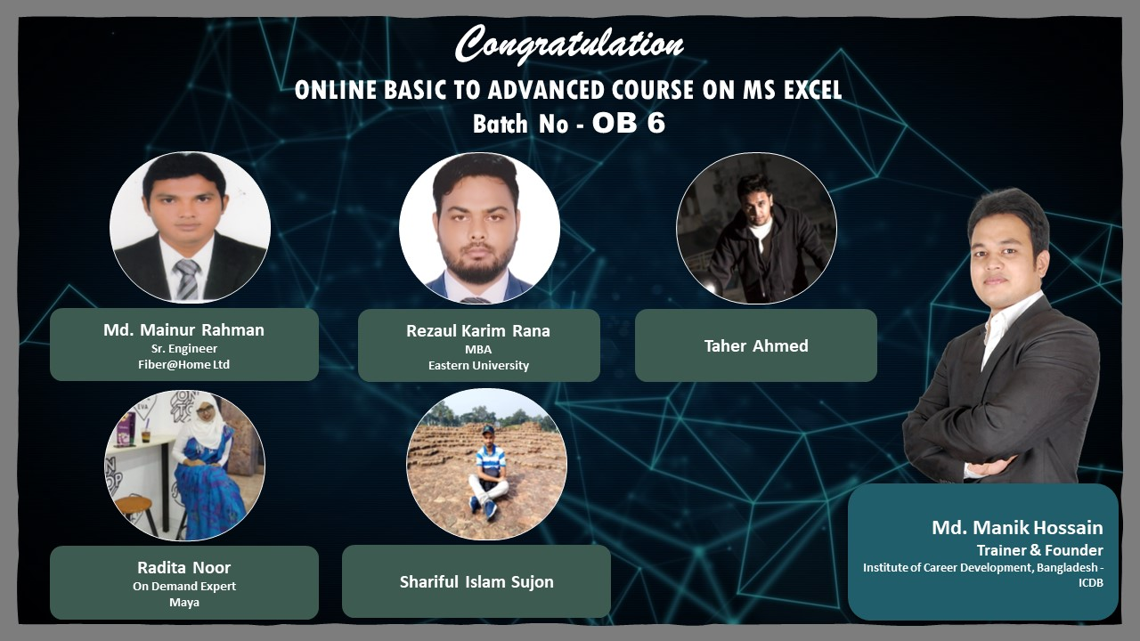 Certificate Giving Ceremony of OB – 6