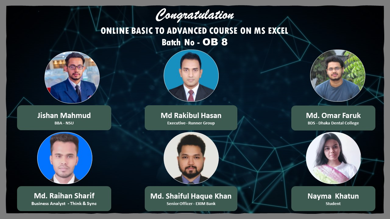 Certificate Giving Ceremony of OB – 8